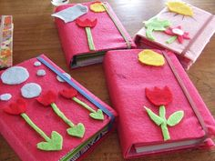 birthday party craft notebooks by monarch post, via Flickr  from monarchpost's photostream