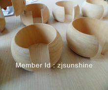 Envío gratis / Good wood / abrir pulseras de madera tallados / brazalete ancho la pulsera de la joyería 15 unids/lote SMT-101J(China (Mainland))