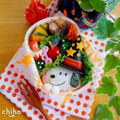 魔法使いのスヌーピー弁当♡ かわいいおべんとう。