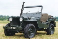 1951 Willys M38 with snorkel. Perhaps my favorite war Jeep.