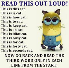 Some Really funny memes from your favorite minions, hope you enjoy it. Some Really funny memes from your favorite minions, hope you enjoy it. Some Really funny memes from your favorite minions, hope you enjoy it. Minion Humour, Funny Minion Memes, Minions Quotes, Funny Animal Memes, Cat Memes, Cute Minion Quotes, Minions Minions, Animal Humor, Funny Pranks