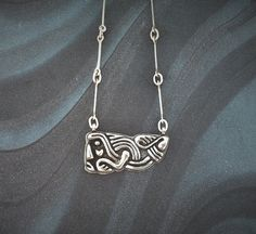 Items similar to Chunky Medieval Design Necklace and handmade chain in solid sterling silver. on Etsy Medieval, Range, Jewellery, Sterling Silver, Chain, Studio, Handmade, Etsy, Design