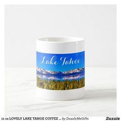 11 oz LOVELY LAKE TAHOE COFFEE MUG