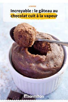 Avez-vous déjà testé la texture légère d'un gâteau au chocolat cuit à la vapeur ? #cuisine #recette #recettemarmiton #marmiton #gateau #chocolat #gateauchocolat #choco #vapeur #recettevapeur