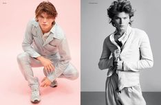 Jordan Barrett helps make a case for spring hues with a new story. The Australian model snags another cover with the latest issue of Hunger magazine. Men In Tight Pants, Jordan Barrett, Hunger Magazine, The Fashionisto, Make A Case, Australian Models, Soft Colors, Cover Photos, Editorial Fashion