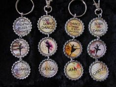 Ballet-Dance-Personalised-Bottle-Top-Bag-Tag-Key-Ring-Festival-Gift