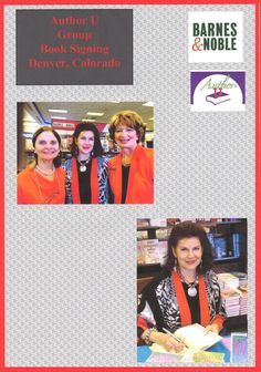 5-2-15 Group Author Signing by Author U members at Barnes & Noble, Aurora, Colorado