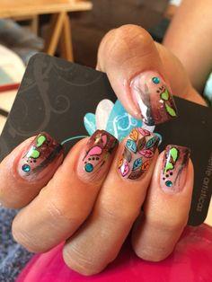 Acrylic nails, nailsart, nails