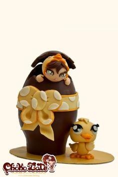 Modelling chocolate Easter Egg