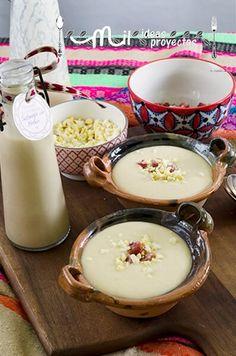 receta-salmorejo-melon2 Vegetarian Recipes, Cooking Recipes, Healthy Recipes, Tapas, Food N, Food And Drink, Gazpacho, Spanish Dishes, Cupcakes