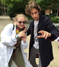 Pin for Later: 28 Doctor Who Costume Ideas For Couples That Are Fantastic Petronella Osgood and the Twelfth Doctor