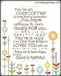 Sunday Encouragement - Beneath My Heart