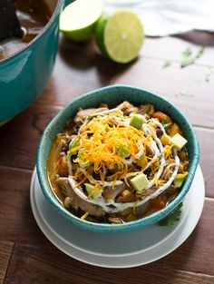 Slow Cooker Mexican Chicken Stew