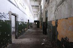 wnętrze korytarz