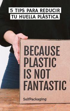 5 tips para reducir tu huella plástica | 2nd Funniest Thing Cover, Books, Diy, Foot Prints, Recycling, Tutorials, Manualidades, Libros, Bricolage