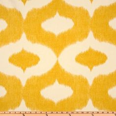 Amazon.com: 54 Wide Duralee Dalesford Yellow Fabric By The Yard: Arts, Crafts & Sewing