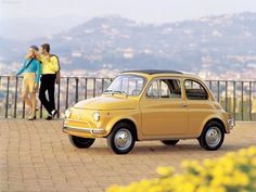 Fiat 500.  Car and Lifestyle