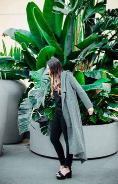 black on black on coat