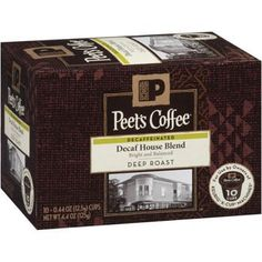 Peets Coffee  House Blend Decaf  K Cups 10ct Pack of 3 ** Details can be found by clicking on the image. (This is an affiliate link and I receive a commission for the sales)