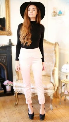 Marzia Bisognin. ●Pants by: Marzia● OMG she's wearing a hat!!!! ahhhh!!! I love it!!!