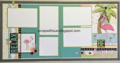 Hope you're enjoying your summer! Here's some layouts for your fun summer photos. Please contact me if you'd like to order a kit. ...