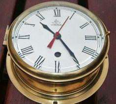Grande Montre de cloison, Horloge mécanique Allemande pendule marine VIKING
