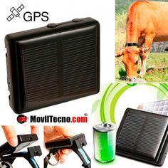 GPS localizador SOLAR antirrobo ideal para animales y ganado.