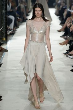 All The Gowns From Spring 2015 - NYFW - Elle I kinda like it in away reminds me of a Egyptian Goddess I dont know why but it does Cleopatra any one?