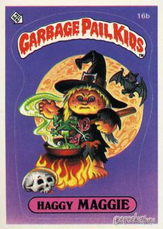 GARBAGE PAIL KIDS - Original Series 1 Card Collection — GeekTyrant Kids Series, Kids Corner, Kids Stickers, 80s Kids, Garbage Pail Kids Cards, Children, Cabbage Patch Kids, Kids Board, Collectible Cards