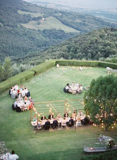 Al Fresco dining in Tuscany