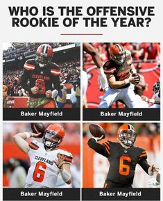 Football Team Names, Ou Football, Cleveland Browns Quarterback, Cleveland Indians, Go Browns, Browns Fans, Baker Mayfield Nfl, Cleveland Browns History, Fantasy Names