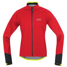 a41418523 GORE BIKE WEAR Mens road cyclist jacket Waterproof GORETEX Active POWER GT  AS Size L RedBlack