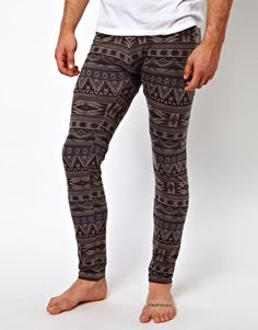 ASOS Meggings With Aztec Print...MEGGINGS !!! REALLY ???