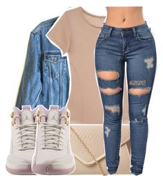 """""""might switch to this layout."""" by lamamig ❤ liked on Polyvore featuring Calvin Klein Jeans, Base Range and NIKE"""