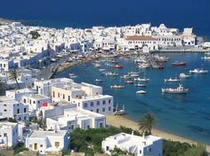 Mykonos, Greece, Aboard a Disney Cruise Line Ship Disney Cruise Line, Disney Parks, Beautiful Places To Visit, Beautiful World, Dream Vacations, Vacation Spots, The Places Youll Go, Places To See, Ubud Hotels