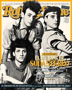 Film, Music and Books on Share Sunday Soda Stereo, Cultura Pop, Pop Rock, Rock N Roll, Music Is Life, My Music, Rolling Stone Magazine Cover, Divas, Music People