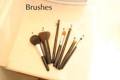 Makeup for the Beginner Part 3, Various Brushes and how to use them