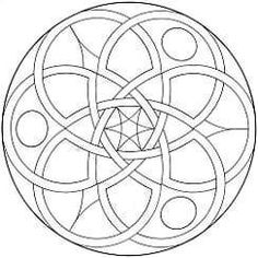 mandala art free coloring pages | From Coloring Mandalas 2 by Susanne F. Fincher; © 2004. Reprinted by ...
