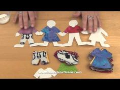 This video is one in a series of how to videos from Hillside Artisans, which explore arts and crafts projects for kids. The aim is not only to entertain kids, but also teach them valuable techniques and get them Craft Projects For Kids, Arts And Crafts Projects, Diy Projects, Paper Chains, Origami, Artisan, Entertaining, Make It Yourself, Dolls