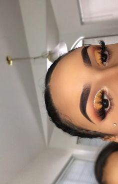Gorgeous Makeup: Tips and Tricks With Eye Makeup and Eyeshadow – Makeup Design Ideas Glam Makeup, Baddie Makeup, Makeup On Fleek, Flawless Makeup, Gorgeous Makeup, Pretty Makeup, Skin Makeup, Makeup Inspo, Makeup Inspiration