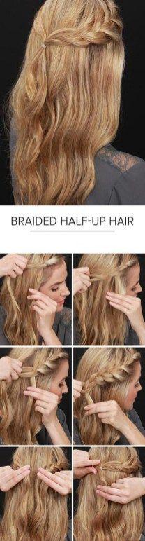 100 charming braided hairstyles ideas for medium hair.