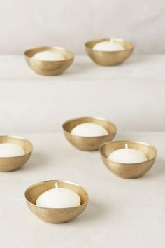 Titania Tealight Holders by Anthropologie