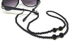 Corrente Salva Óculos Blanc Perle Reading Glasses, Eye Glasses, Cat Eye Sunglasses, Eyewear, Beaded Jewelry, Jewerly, Chain, Beads, Earrings