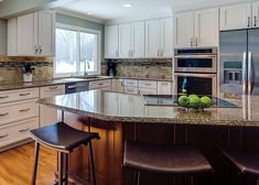 Bridgewood Custom Cabinetry —Customize cabinets for your dream kitchen Ivory Kitchen Cabinets, Discount Kitchen Cabinets, Kitchen Cabinet Design, Kitchen 2016, New Kitchen, Kitchen Ideas, Countertops, Elegant Kitchens