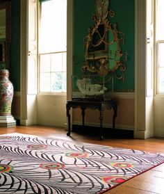 This rug looks even better in real life... picture of the rug in The Rug Company store in Soho to come!