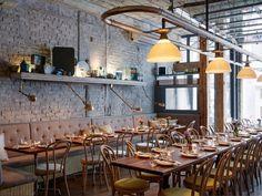 Chef Eduard Frauneder's new restaurant, Schilling.