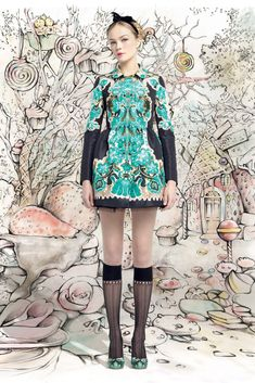Red Valentino Fall 2013 Ready-to-Wear Fashion Show