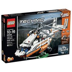 Build and experience the awesome LEGO Technic Heavy Lift Helicopter. This huge robust 2-in-1 model is packed with authentic details and exciting features. Activate the included Power Functions motor ...