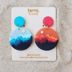 Carousell - Snap to List, Chat to Buy Best Picture For Polymer Clay Earrings modern For Your Taste Y Cute Polymer Clay, Polymer Clay Charms, Polymer Clay Projects, Polymer Clay Creations, Handmade Polymer Clay, Clay Crafts, Polymer Clay Jewelry, Clay Beads, Diy Clay Earrings