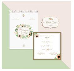 Invitation Graphic Design, Tag Design by Loops.id